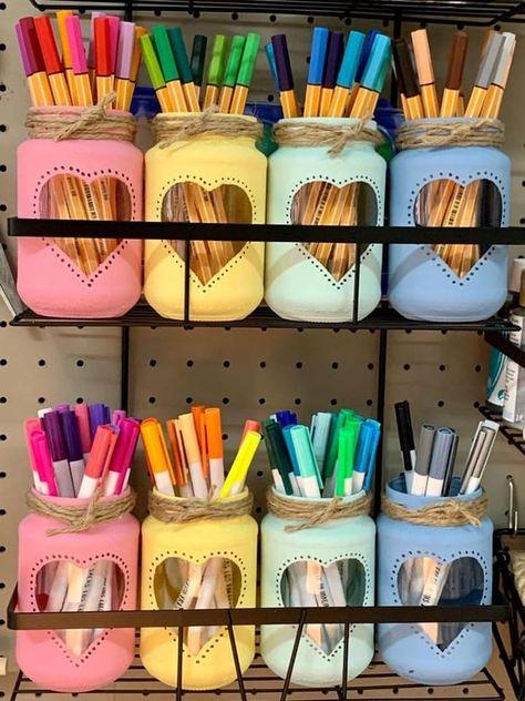 frascos decorados