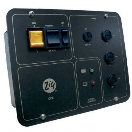 2676be6b292ffdc0573e1ad82c3e434c motorhome zig zig cf8 control panel chager motorhome & caravan power supply zig cf8 wiring diagram at panicattacktreatment.co