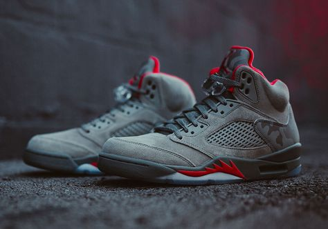 sneakers  news The Air Jordan 5 Takes Flight In New Camo-Print Release 24b20521b