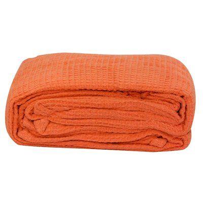 thermal cotton blanket. Zipcode Design Haylee All-Season Thermal Cotton Blanket Size: Full/Queen, Color