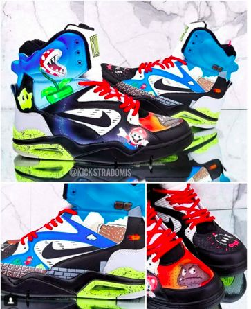 fbe98a40b3e8 Golden State Warriors Rookie Hits the Court in Custom  Dragon Ball Z  Nike  PG1
