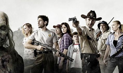 The Walking Dead. Half of these people are dead. lol.