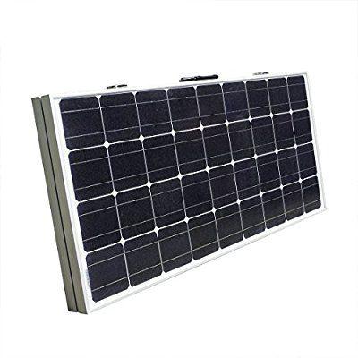 Eco Worthy 12 V 120 W Portable Pliable Valise Solaire Monocristallin Avec Cadre Noir Amazon Fr Jardi Solar Panels For Home Solar Panels Portable Solar Panels