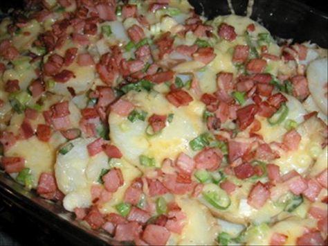 campfire cooking  | Mom's Camp Fire Potatoes Recipe - Food.com - 241049