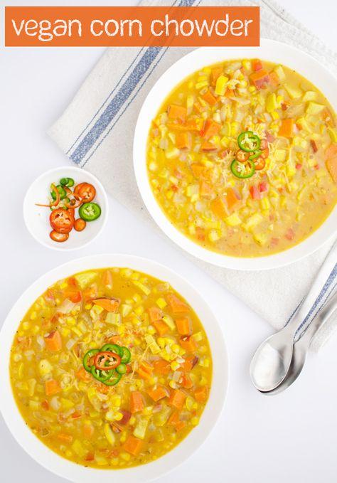 Squash Corn Chowder