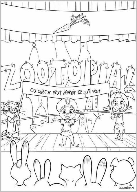 30 zoomania ausmalbilderideen  zoomania ausmalbilder