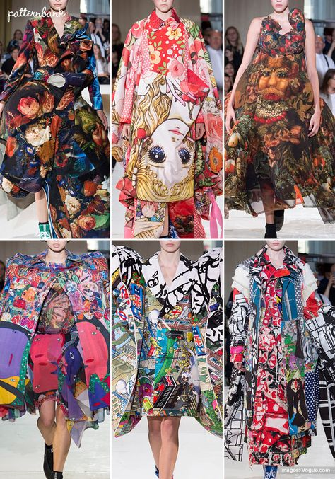 Patternbank brings you a concise overview of the most important print and pattern collections, from Spring 2018 RTW Paris shows. Dries Van Noten Images via