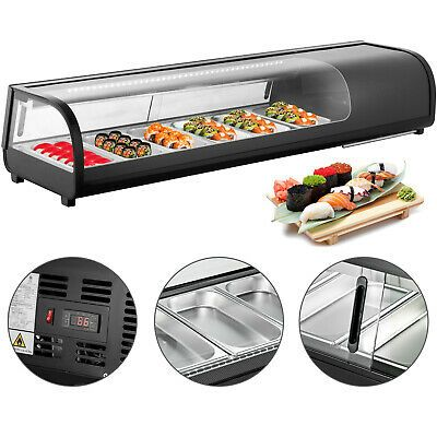 Ad Ebay Url Sushi Bar Showcase Countertop Sushi Cooler Display