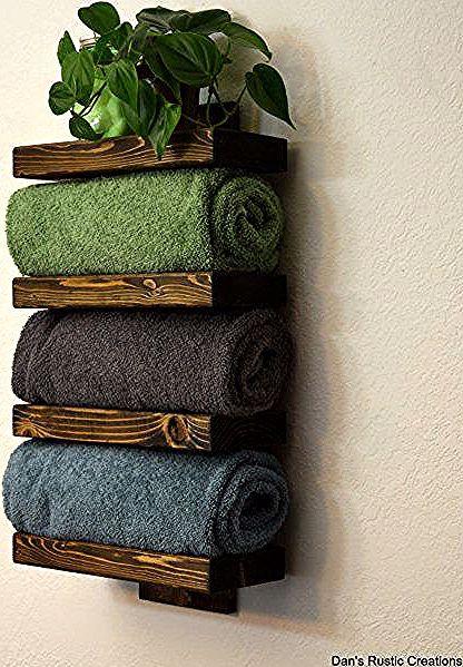 وصفات الحلوى Image By Jeanne Thiel In 2020 Towel Rack Bath Towel Racks Hotel Style