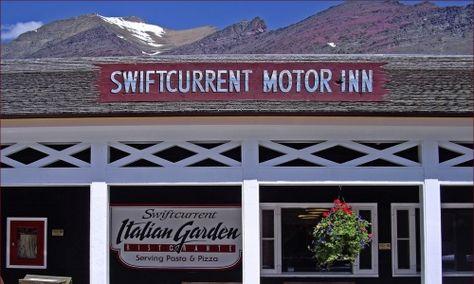 Swiftcurrent Motor Inn in Glacier National Park
