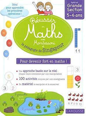 Amazon Fr Reussir En Maths Avec Montessori Et La Pedagogie