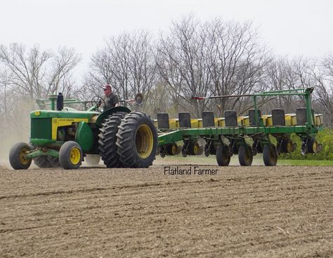 18X24 Poster of a John Deere Tractor and Equipment Agriculture Farm Ranch