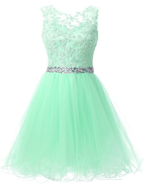 Amazon.com: Sarahbridal Women's Short Tulle Beading Homecoming Dress Prom Gown AJ032: Clothing