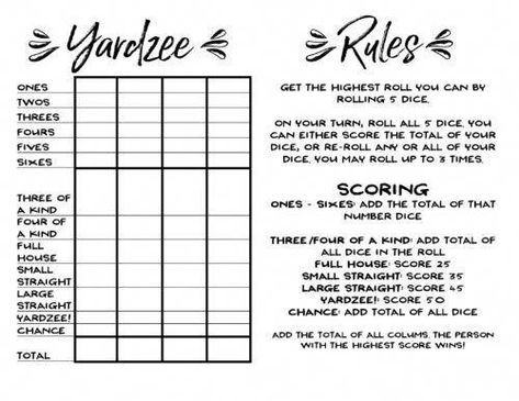 picture relating to Farkle Rules Printable referred to as Record of Pinterest farkle regulations printable no cost illustrations or photos