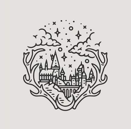 59 Ideas Tattoo Harry Potter Ideas Simple Harry Potter Drawings Disney Tattoos Tattoo Design Drawings