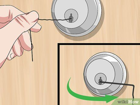 How To Open A Locked Door With A Bobby Pin Picking Locks Bobby Pins Bobby Pins Bobby