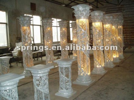 Image result for how to hand make wedding pillars and columns ...