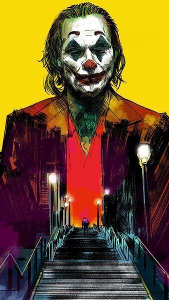 Joker 2019 Poster Joaquin Phoenix 8k Hd Mobile Smartphone And Pc Desktop Laptop Joker Poster Joker Images Joker Wallpapers Cool cartoon joker wallpapers hd