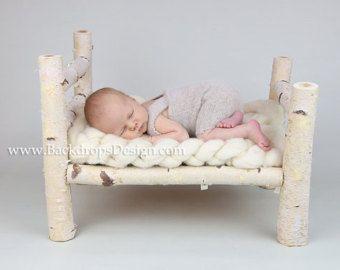 Baby-Fotostudio-Requisiten f/ür Foto Heimzubeh/ör kleines Holzbett Babybett aus Holz Baby-Fotorequisiten Posiert Baby-Fotografie-Requisiten
