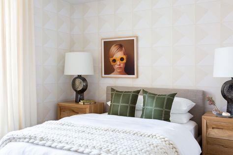 Bright Modern Serene Bedroom
