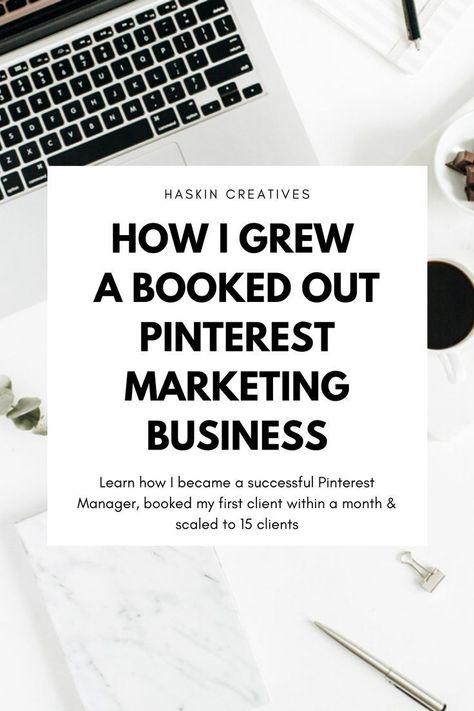 How I Became a Pinterest Manager