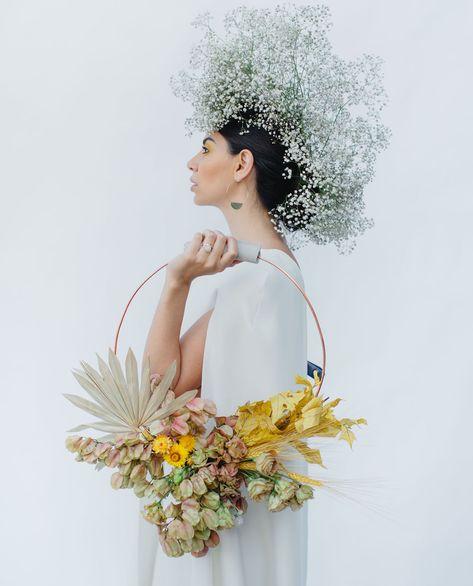 be30a988945 Color Block Wedding Inspiration Осенний букет невесты. fall bridal bouquet.