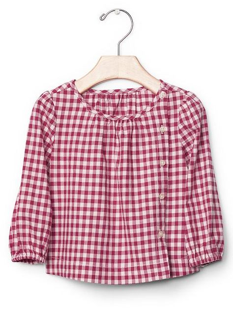 gingham shirt girls