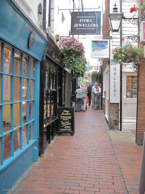 One of my favorite places on earth...The Lanes in Brighton!! I need to go back