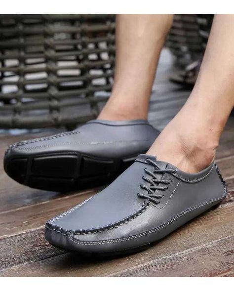 Mens Comfort 2017 Rivet Spike Stylish Suede Slip On Loafer Casual Shoes Flat Hot