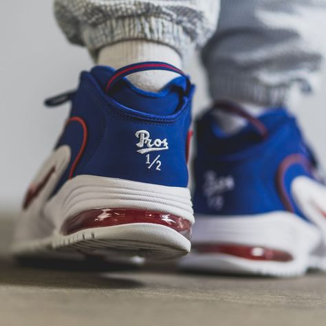 buy popular ec593 25a51 Nike Air Max Penny Blue  Red  White