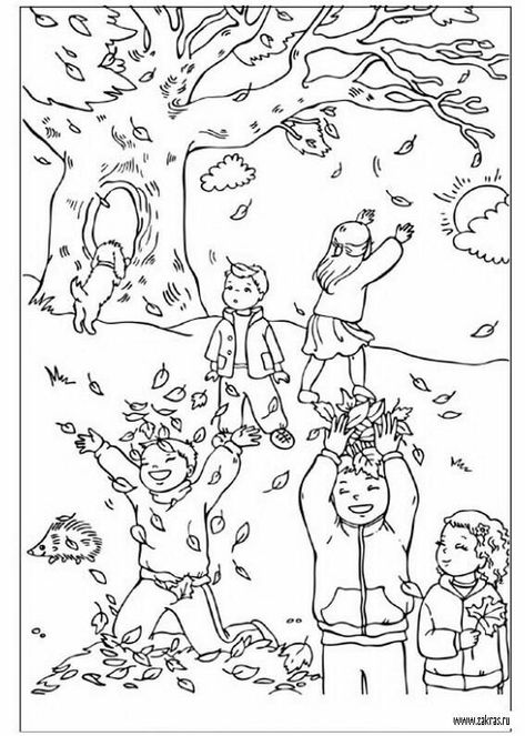 Click Picture For More Autumn Coloring Pages Autumn Coloring Pages For Kids Autumn Coloring S Fall Coloring Pages Autumn Coloring Autumn Coloring Page