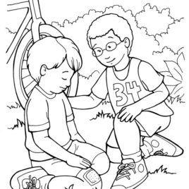 Free Coloring Pages Showing Kindness Copy Word Kindness Coloring Artesania Biblica Actividades De La Biblia Paginas Para Colorear Para Ninos