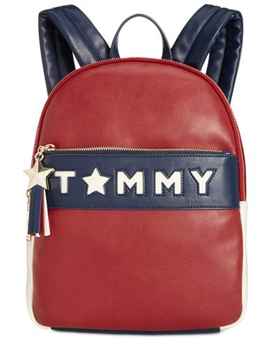 70609a7a20f7 Tommy Hilfiger Logo Story Smooth Small Backpack | Wishlist - Bags in ...