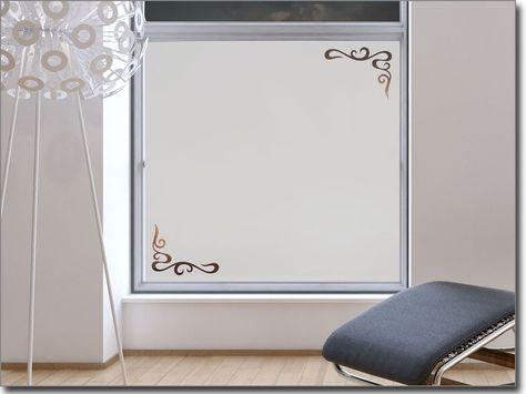 Folie für badezimmerfenster  Fensterfolie blickdicht Noblesse | Sichtschutzfolien Klassik ...