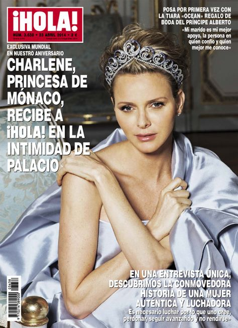 Charlene Princess Of Monaco Welcomes Hola In The Privacy Of