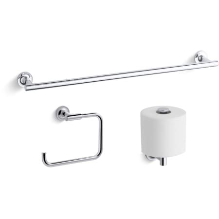 Kohler Purist Good Accessory Pack 1 Kohler Purist Towel Bar Toilet Accessories