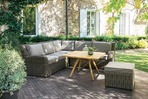 Canapé REGGAE | Agrément de jardin, Decoration exterieur et ...