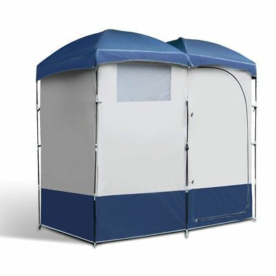 Weisshorn Camping Shower Toilet Tent Outdoor Portable Change Room