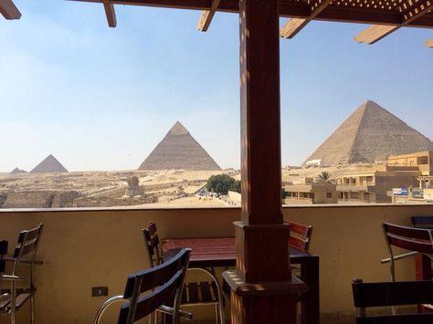 Pizza Hut Balcony View Of Pyramids Pizza Hut Restaurant