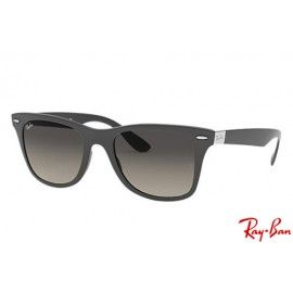 Ray Bans Rb4195 Wayfarer Liteforce With Grey Frame And Grey Lenses Cheap Ray Ban Sunglasses Ray Ban Sunglasses Ray Bans
