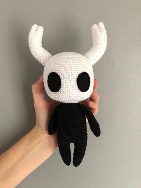 Crochet Animal Patterns, Stuffed Animal Patterns, Amigurumi Patterns, Amigurumi Doll, Crochet Animals, Kawaii Crochet, Crochet Dolls, Half Double Crochet, Single Crochet