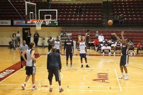 Sixers Training Camp 2012 Philadelphia 76ers Training Camp Philadelphia 76ers Camping