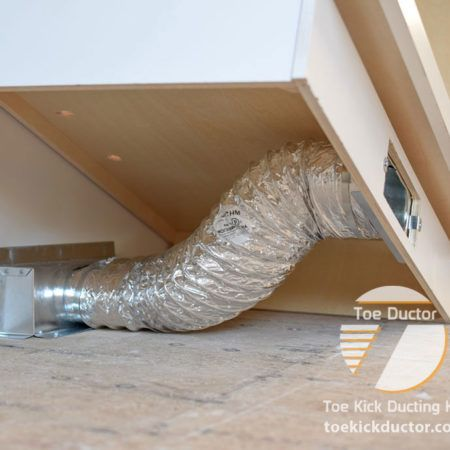Toe Kick Register From Anywhere Underneath The Cabinet And Creates A Sealed And Efficient Connection To Ensure Your Heating A Floor Vents Wall Vents Baseboards