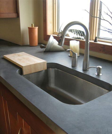 Küchenspülen Montagetyps grau idee | Küche | Pinterest | Adele | {Küchenspülen 12}