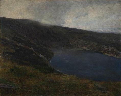 jezero lesní randění