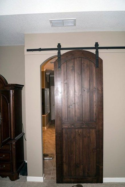 Arched Top Barn Door Arched Interior Doors Barn Style Doors Arched Barn Door