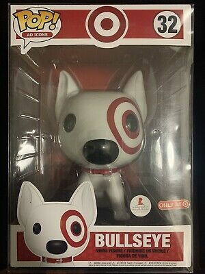 Bullseye 32 10 Inch Funko Pop Target Exclusive Near Mint Includes Protector In 2020 Bullseye Funko Target Exclusive