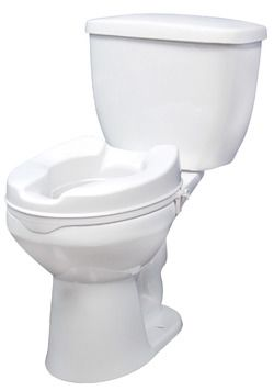 Pleasant Drive Medical Raised Toilet Seat Without Lid Hip Uwap Interior Chair Design Uwaporg
