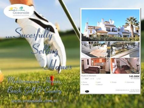 Pin De Oceanside En Oceanside Real Estate Chalet Adosado Y Golf