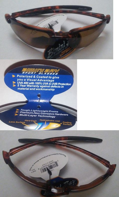 bd04cd9b2252 Sunglasses 151543  Bimini Bay Polarized Ballistic Style Sunglasses Tortoise  Shell Frame Amber Lens -  BUY IT NOW ONLY   14.99 on  eBay  sunglasses   bimini ...